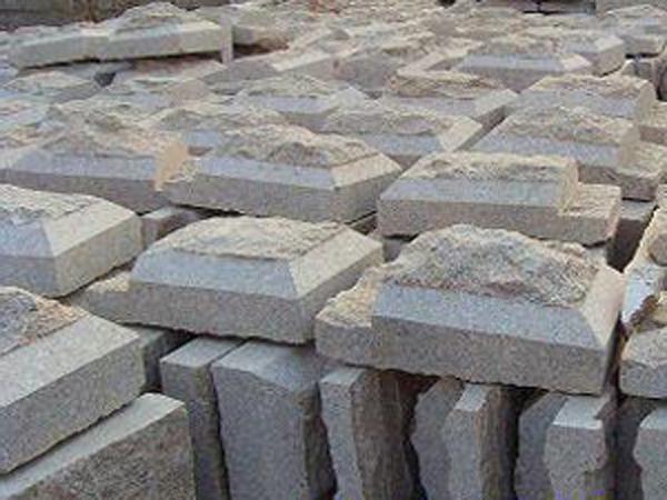 萊州白麻蘑菇石
